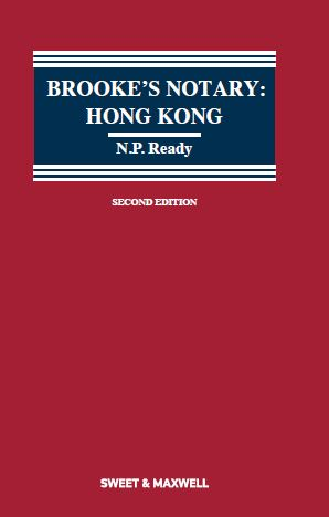 Brooke's Notary Hong Kong, 2nd Edition