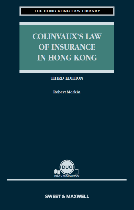 Online bookstore hong kong colinvauxs law of insurance in hong kong third edition fandeluxe Image collections