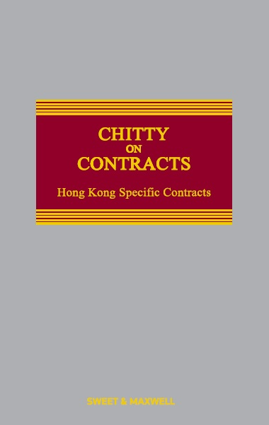 Chitty on Contracts, Hong Kong Specific Contracts