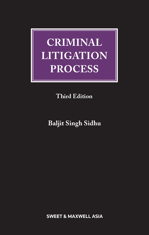Criminal Litigation Process (3rd Edition)