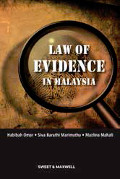 The Law of Evidence In Malaysia