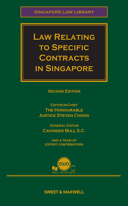Law Relating to Specific Contracts in Singapore, 2nd Edition