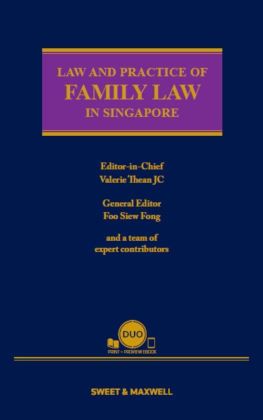 Law and Practice of Family Law in Singapore