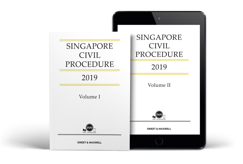 Singapore Civil Procedure 2019